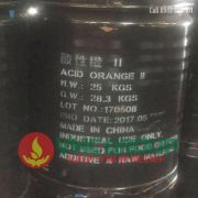 Acid Orange II vang hien tot